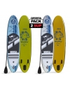 PACK 2 Tablas Paddle Surf Hinchables: SUPRO91 y SUPRO92