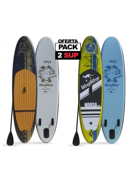 PACK 2 Tablas Paddle Surf Hinchables: SUPRO98 y SUPRO94