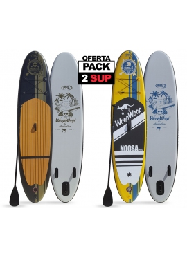 PACK 2 Tablas Paddle Surf Hinchables: SUPRO98 y SUPRO96