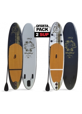 PACK 2 Tablas Paddle Surf Hinchables: SUPRO98 y SUPRO97
